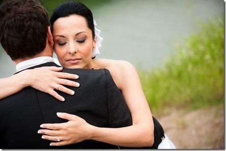 Olga & Aris…just married.