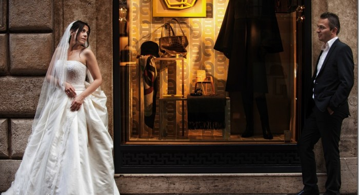Dimitris & Viki…a Greek wedding with shooting in Rome.
