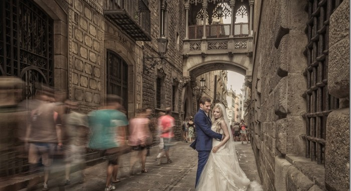 Nikos & Pisti wedding…Thessaloniki & Barchelona