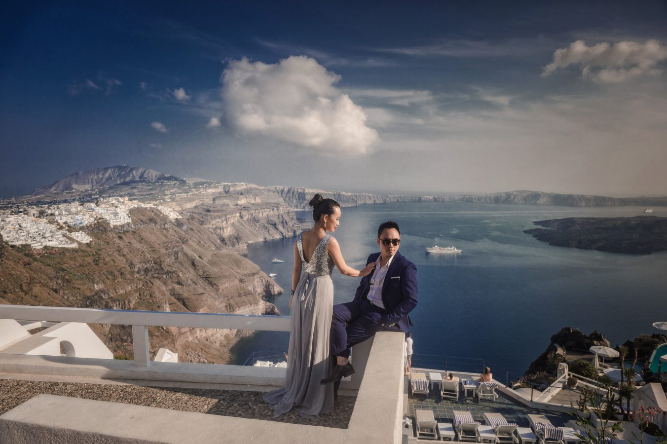 wedding gallery santorini wedding