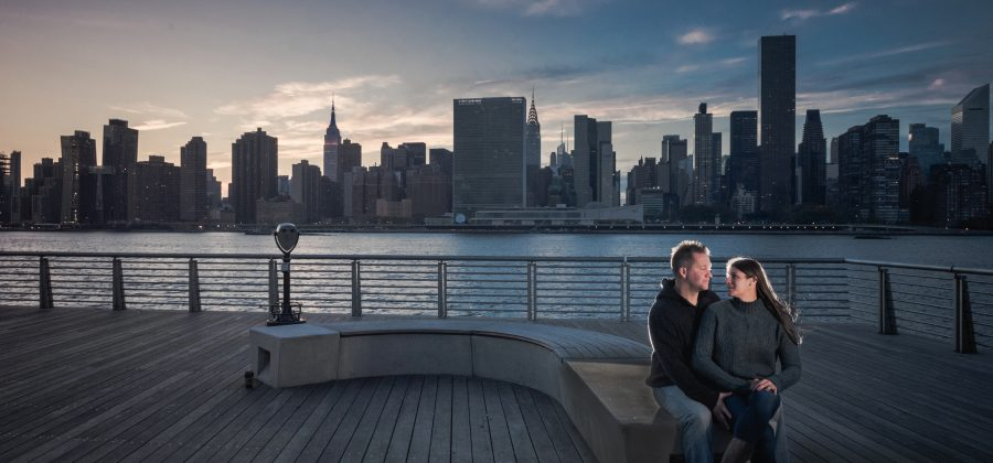 a pre wedding session in New York